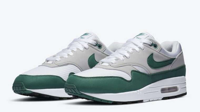 Nike Air Max 1 Anniversary Hunter Green Front thumbnail image
