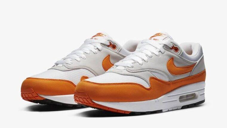 Nike Air Max 1 Anniversary Magma Orange Front thumbnail image