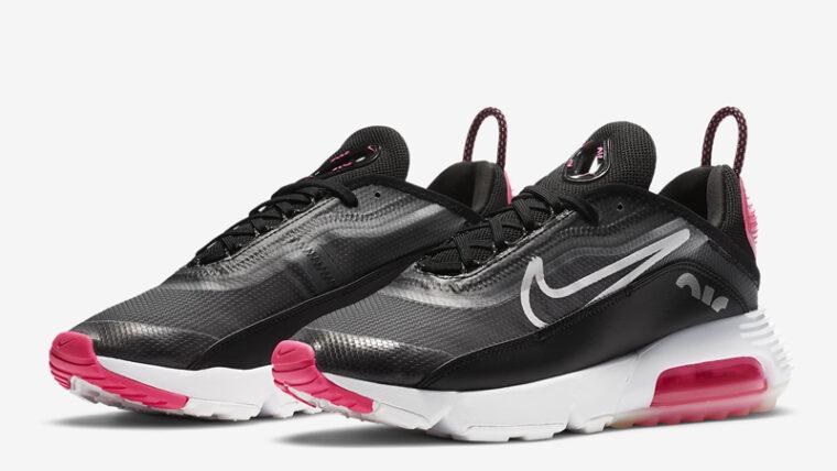 Nike Air Max 2090 Black Pink Blast Front thumbnail image