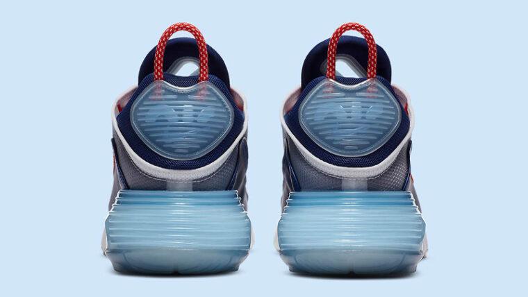 Nike Air Max 2090 USA Chile Red Royal Blue Back thumbnail image