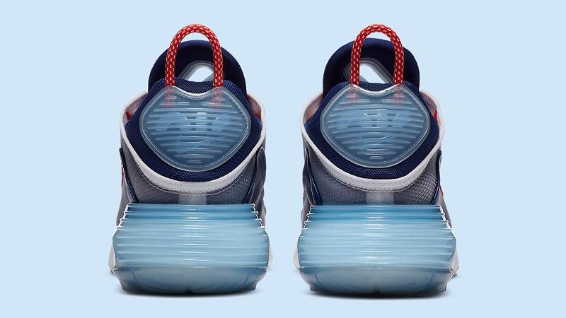 Nike Air Max 2090 USA Chile Red Royal Blue Back