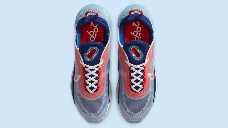 Nike Air Max 2090 USA Chile Red Royal Blue Middle