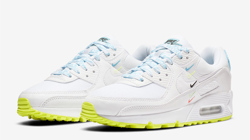 Nike Air Max 90 NS SE Worldwide White Blue Fury Front