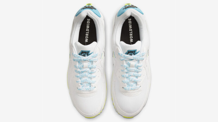 Nike Air Max 90 NS SE Worldwide White Blue Fury Middle thumbnail image