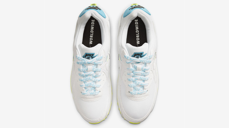 Nike Air Max 90 NS SE Worldwide White Blue Fury Middle