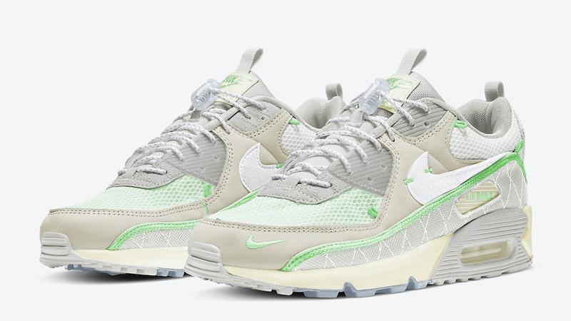 Nike Air Max 90 Sail Neon Green | CZ9078 010