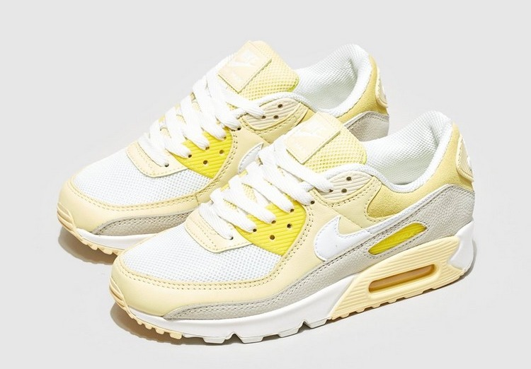 Nike Air Max 90 White Yellow