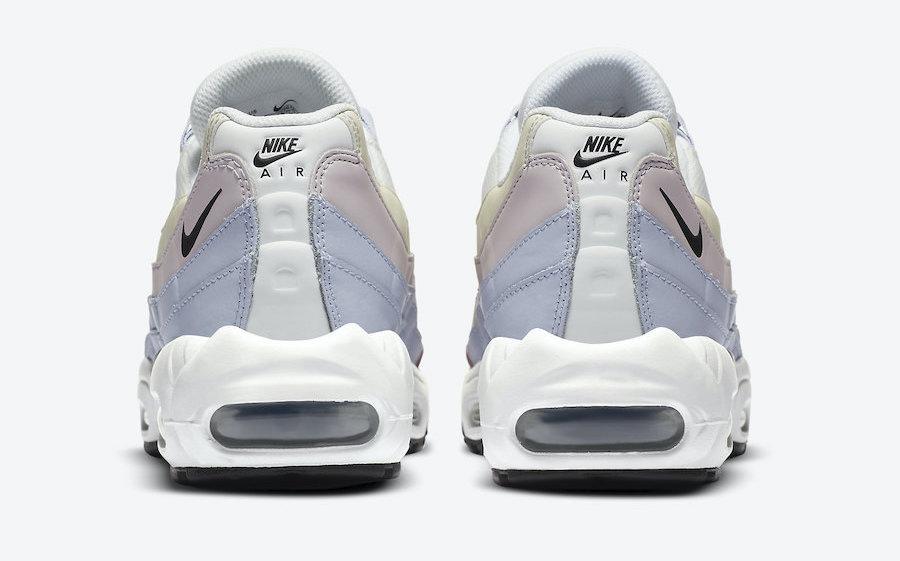 Nike Air Max 95 Barely Rose Summit White heel