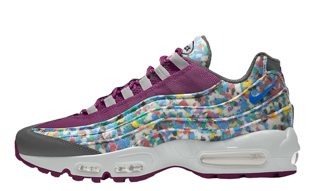 Nike Air Max 95 Unlocked By You Purple Multi