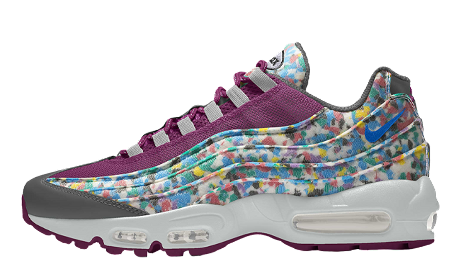 Nike Air Max 95 Unlocked By You Purple Multi | Where To Buy ...