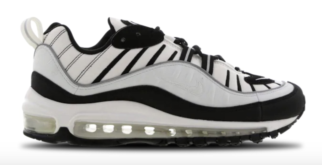Nike Air Max 98 White Black
