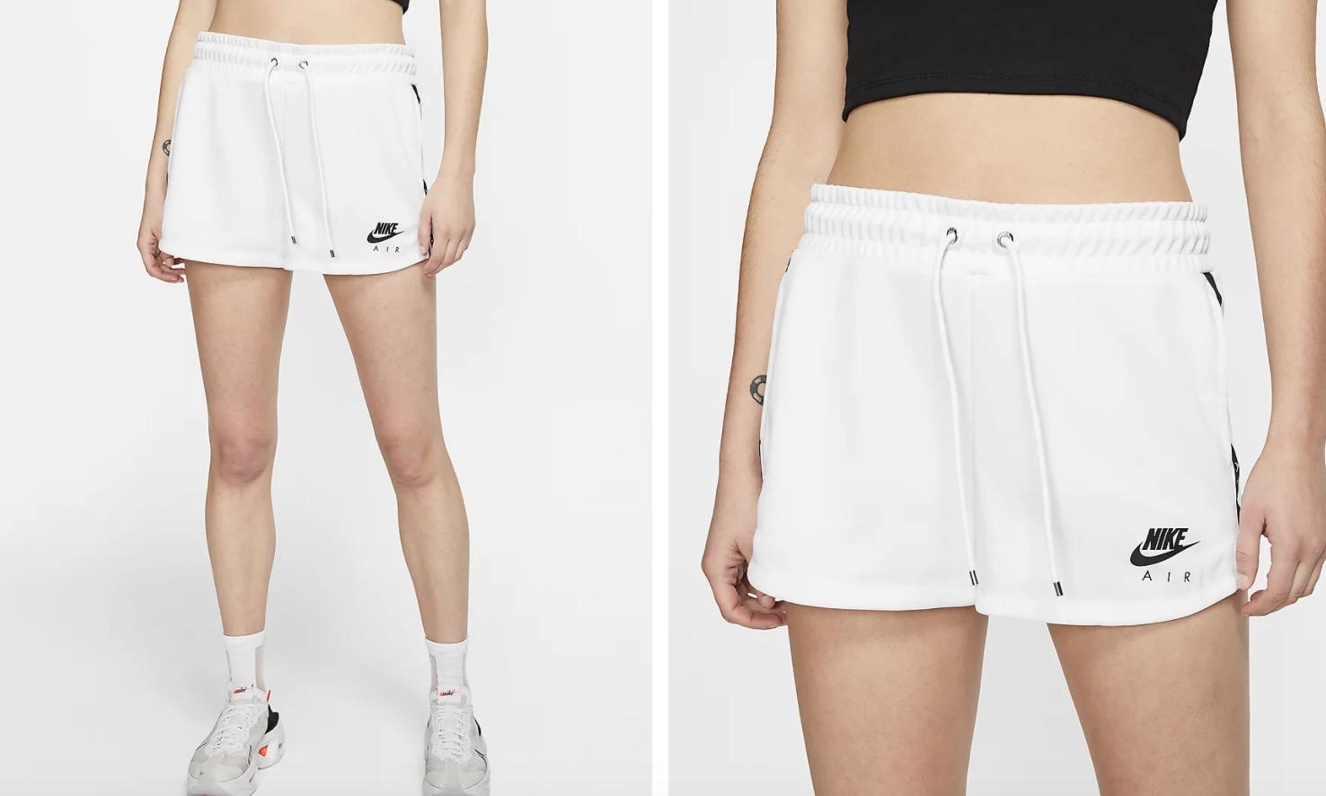 Nike Air Shorts White