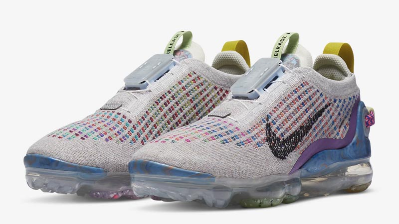 Nike Air VaporMax 2020 Flyknit Pure Platinum Front