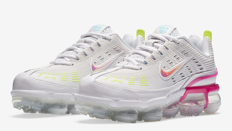 Nike Air Vapormax 360 Fire Pink Volt Front thumbnail image
