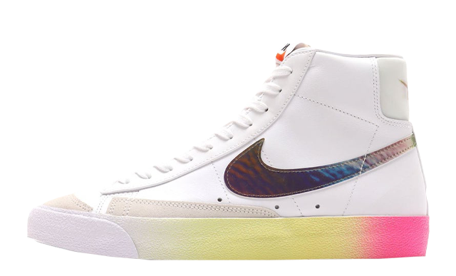 Nike Blazer Mid 77 Vintage White Bright Cactus