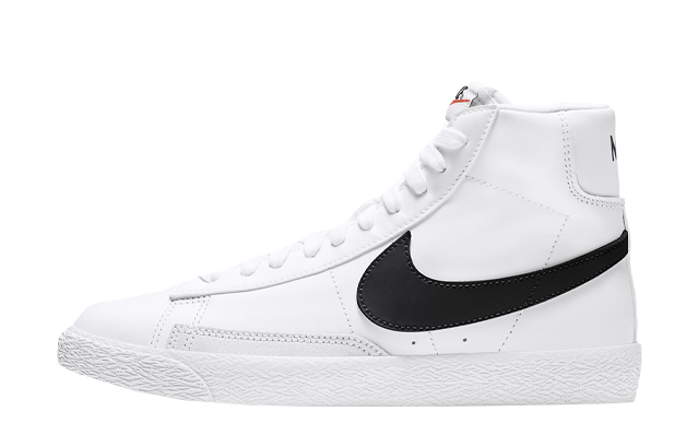 Nike Blazer Mid GS White Black
