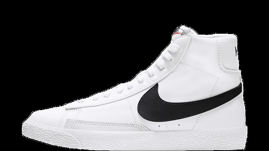 Nike Blazer Mid GS White Black