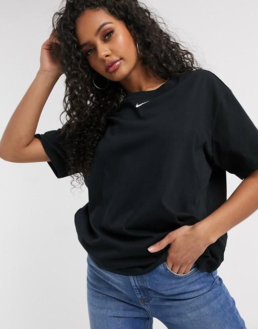 Nike Central Swoosh Oversized black T-Shirt