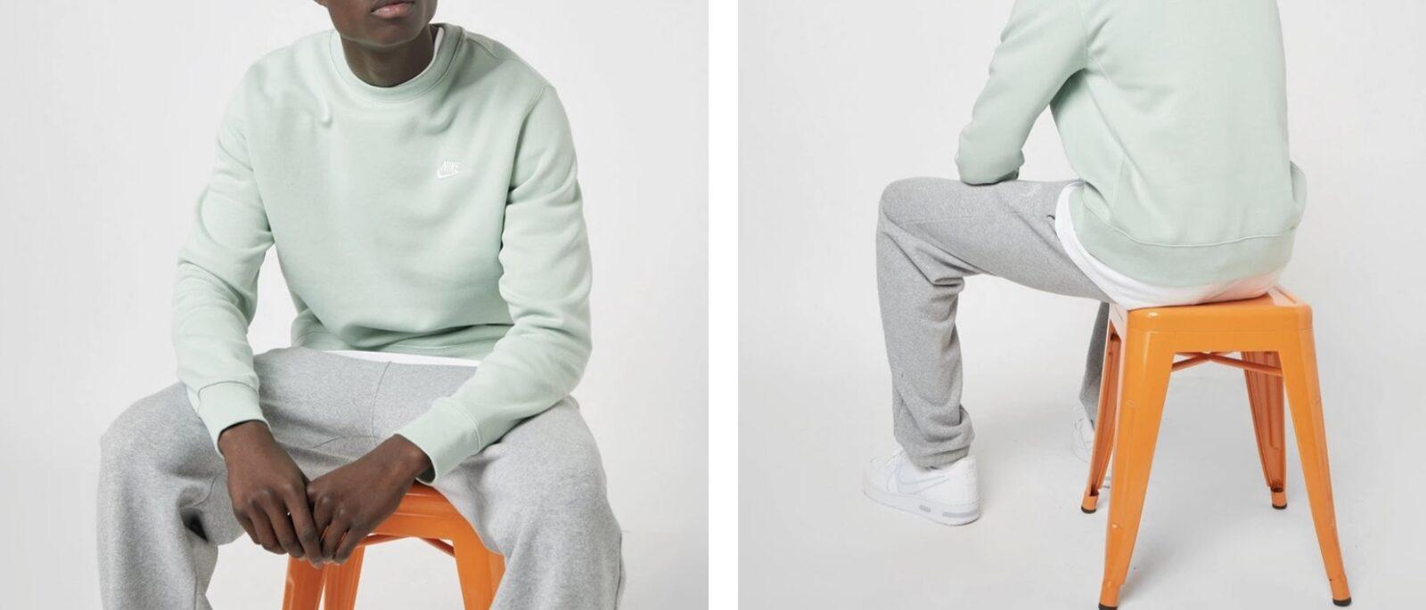 Nike Crew Sweatshirt Mint