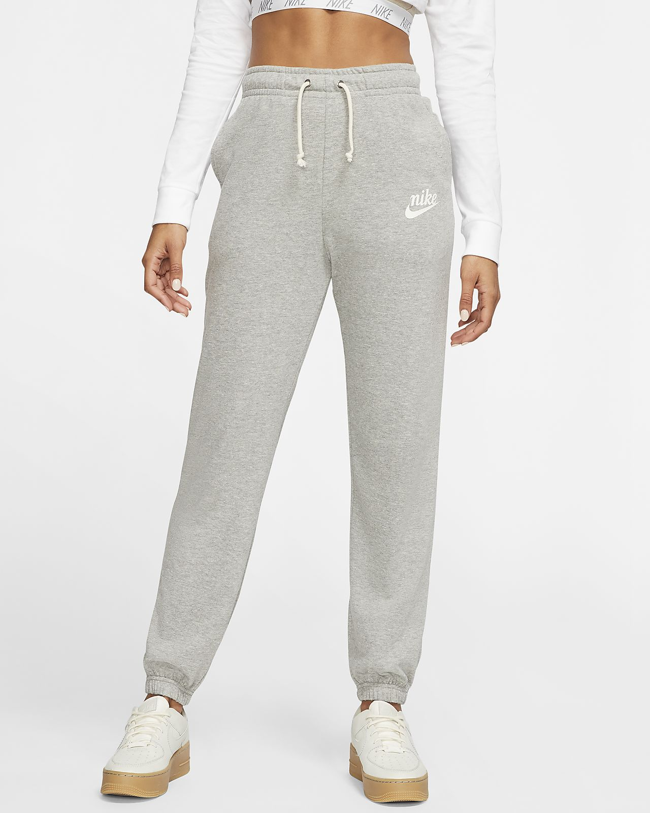 Nike Gym Vintage Trousers Grey