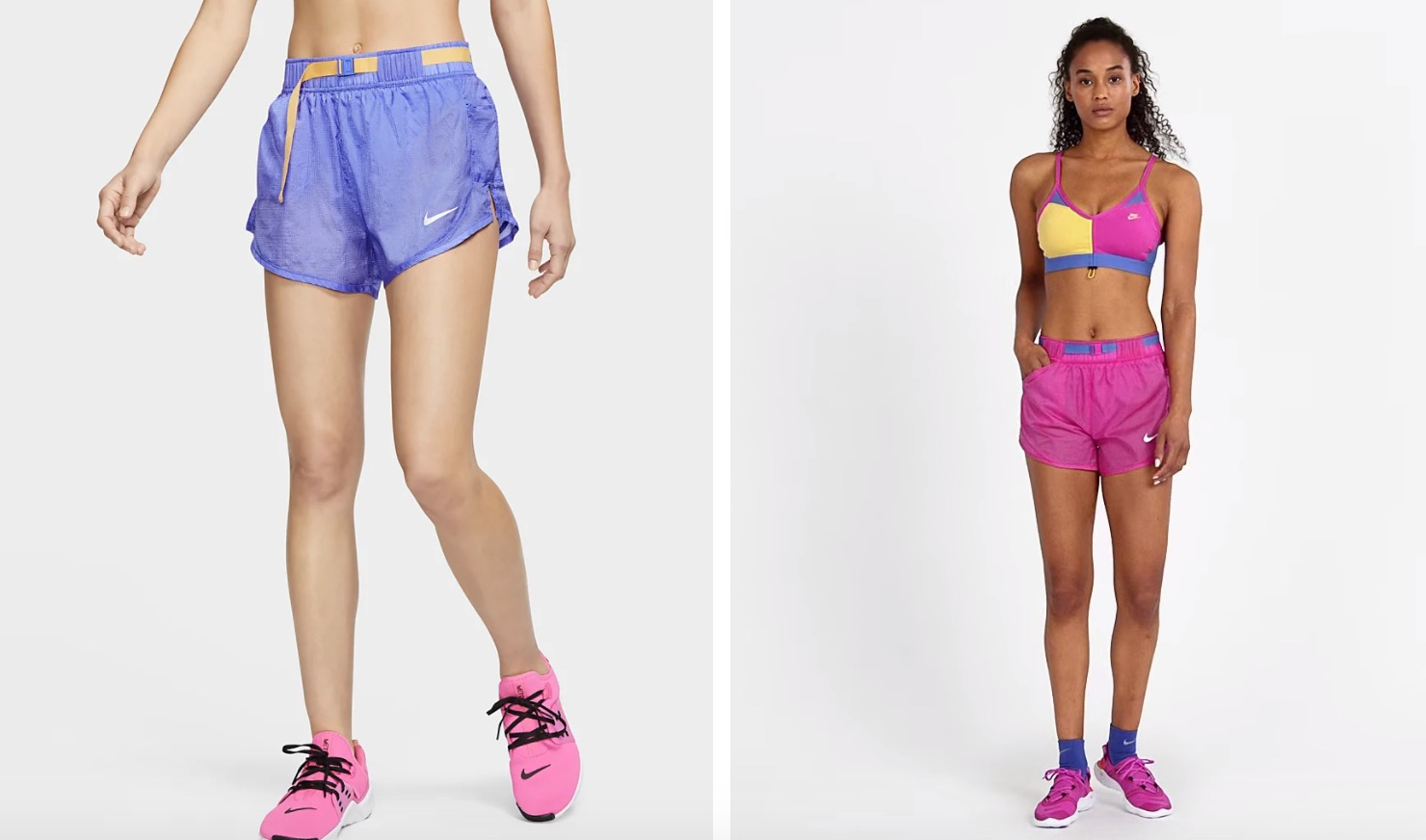 Nike Icon Clash Shorts Purple |
