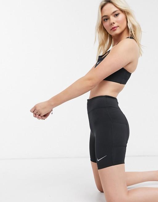 Nike Legging Shorts Black