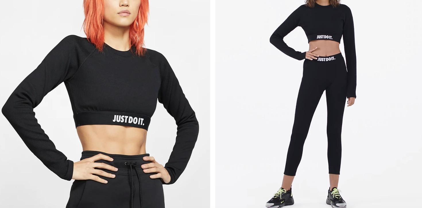 Nike Long-Sleeve Top Black