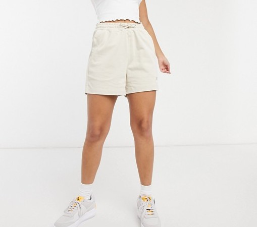Nike Premium Jersey Shorts Oatmeal