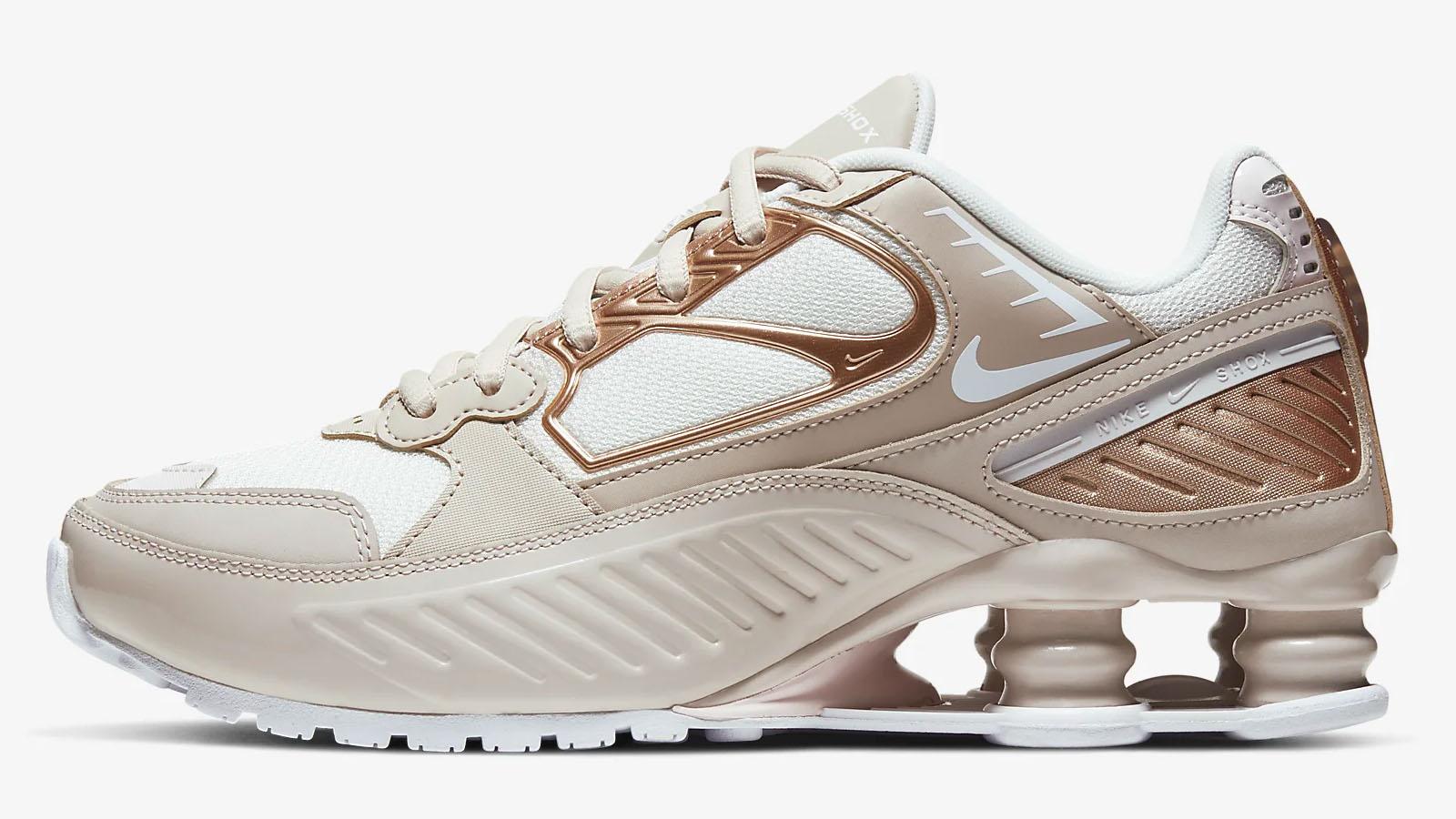 Nike Rose Gold Shox