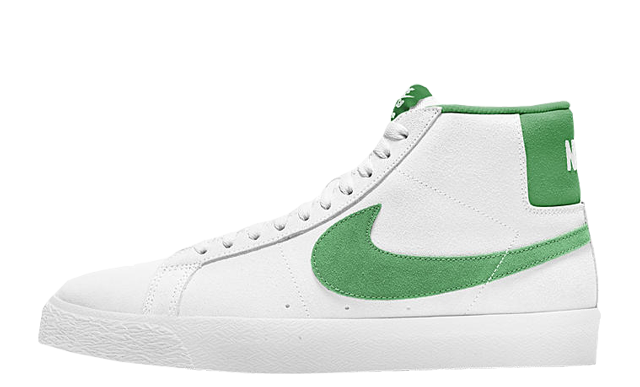 Nike SB Zoom Blazer Mid White Green