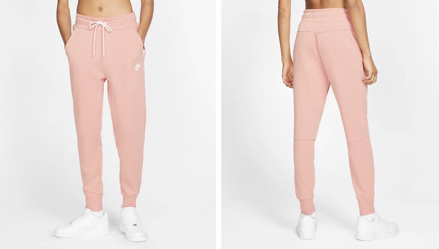 Nike Sportswear Fleece Trousers Pink Quartz
