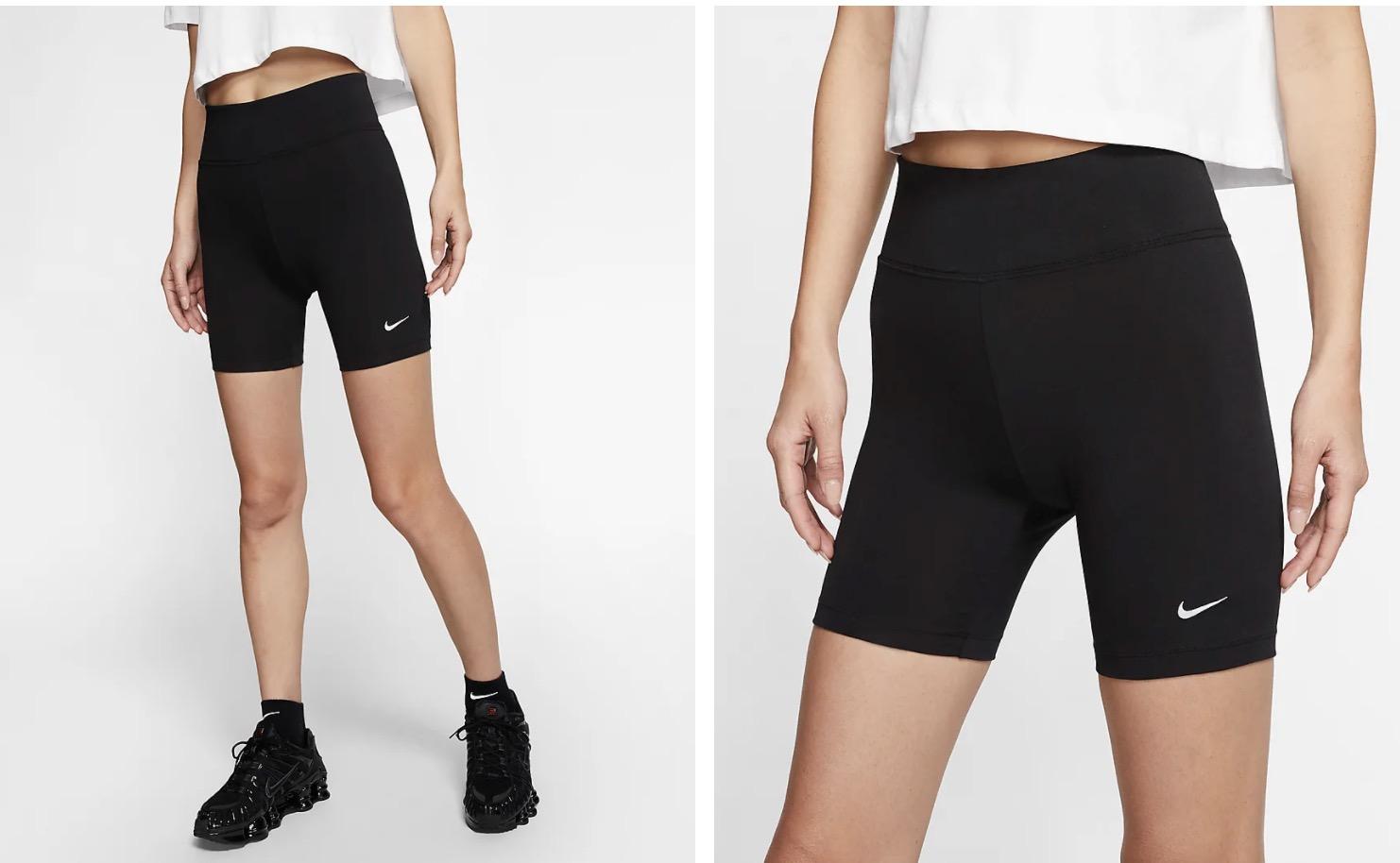 Nike Sportswear Leg A See Bike Shorts Black