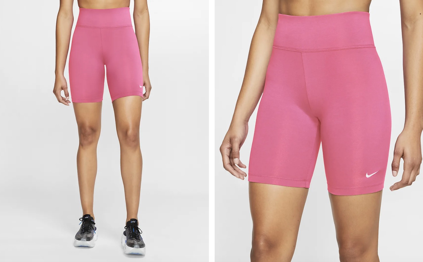Nike Sportswear Leg A See Bike Shorts Pink