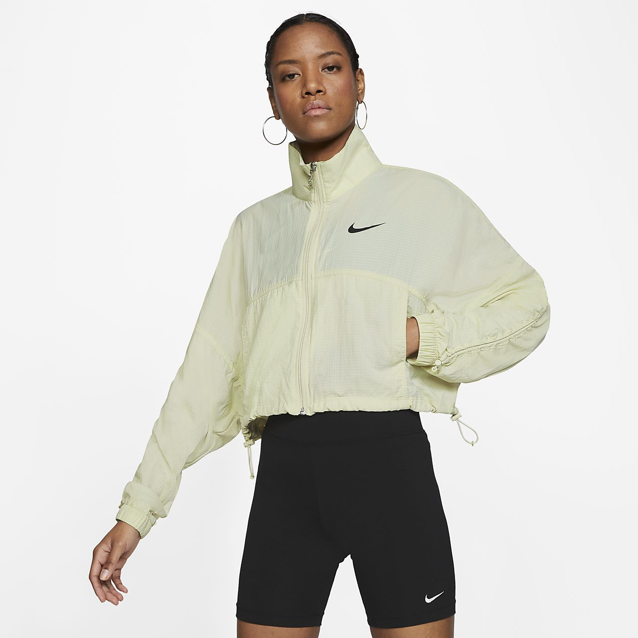 Nike Sportswear Swoosh Jacket Fossil