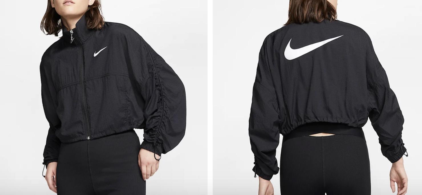Nike Swoosh Jacket Black |