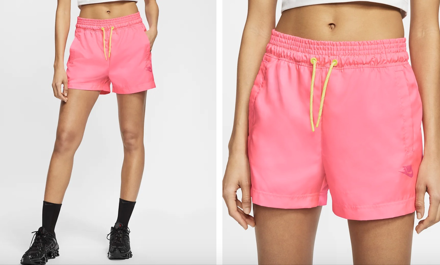 Nike Woven Shorts Pink