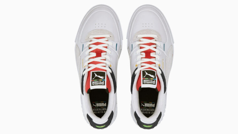 Puma Cali Sport Unity White Red Middle thumbnail image