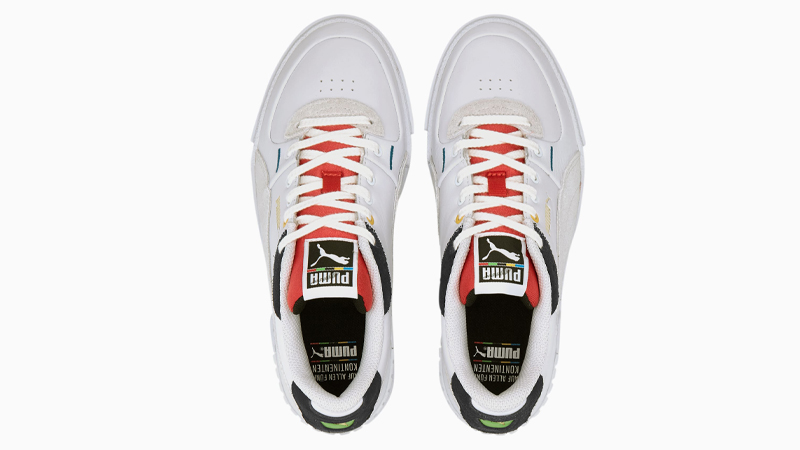 Puma Cali Sport Unity White Red Middle