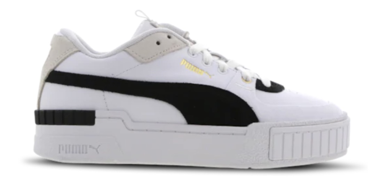Puma Cali Sport White Black