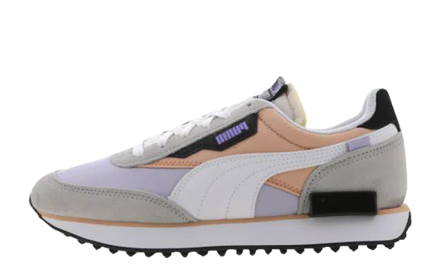 Puma Future Rider Asymetric White Pink Sand