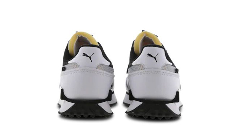 Puma Future Rider White Black Back
