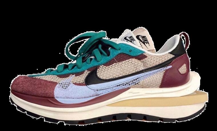 Sacai x Nike VaporWaffle Red Green thumbnail image