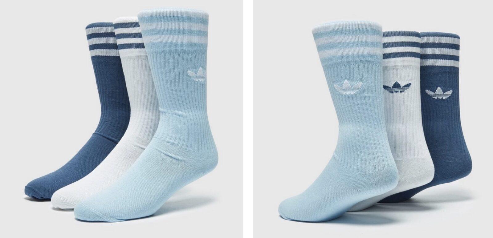 adidas originals 3-stripe socks