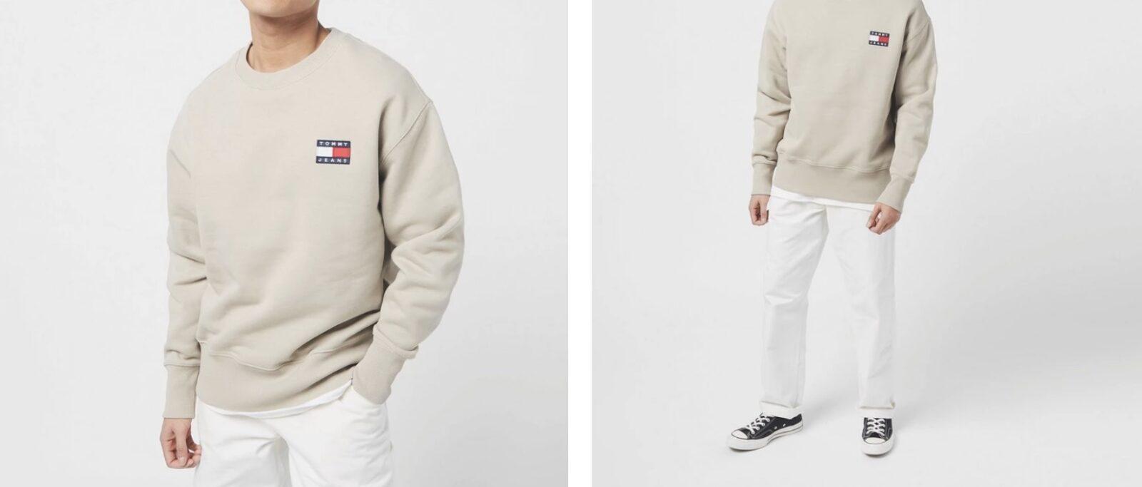 Tommy Jeans Sweatshirt Beige