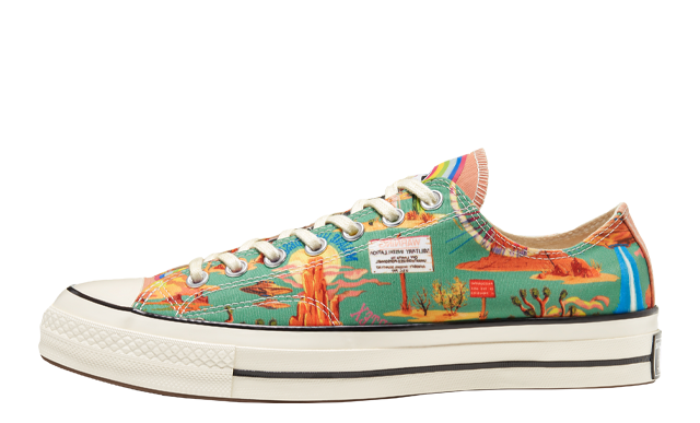 Twisted Resort x Converse Chuck 70 Low Top Egret Multi