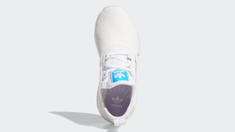 adidas NMD R1 Cloud White Iridescent Middle thumbnail image
