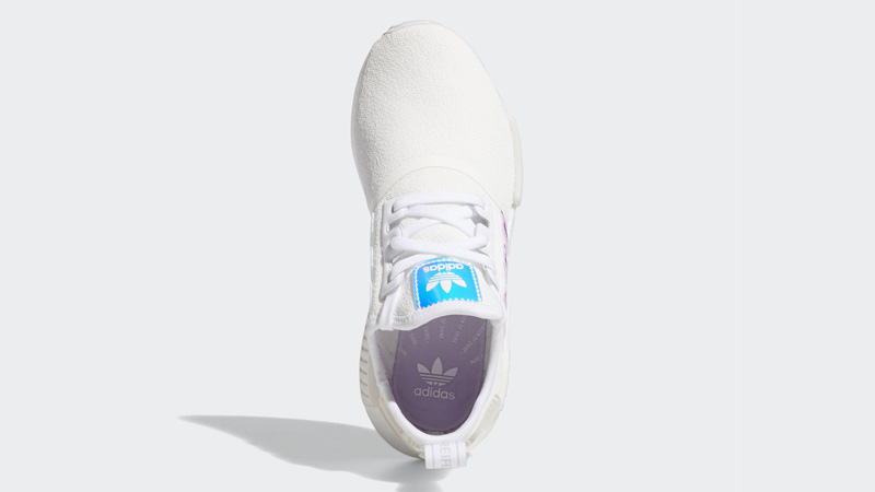 adidas NMD R1 Cloud White Iridescent Middle