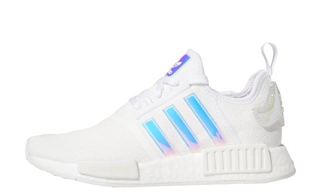 adidas NMD R1 Cloud White Iridescent