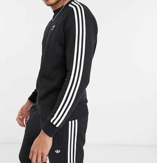 adidas Originals 3-Stripe Sweatshirt Black