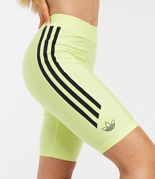 adidas Originals Legging Shorts Frozen Lemon